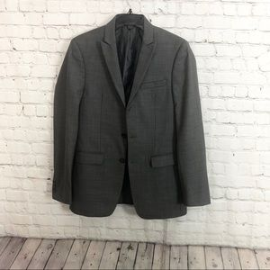 Calvin Klein Gray Extra Slim Fit Suit Jacket 36 R